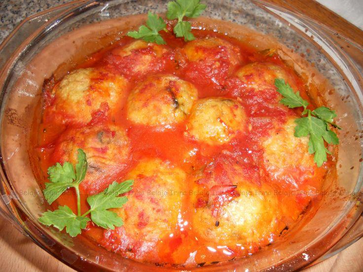 РИСОВЫЕ ТЕФТЕЛИ С ГРИБАМИ, овощами в томатном соусе, запечённые в духовке очень вкусное и сытное постное блюдо. Полноценный обед за 30 минут на вашем столе. ...