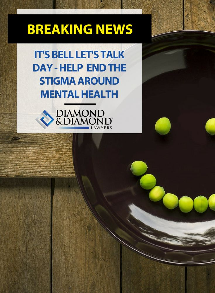 #MentalHealth affects everyone. Today is @Bell_LetsTalk - a day that helps end the stigma surrounding mental health. It's time to get the conversation started, learn more here.