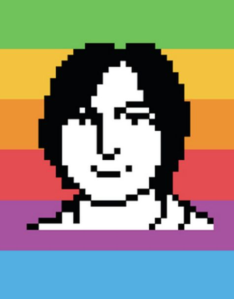 The Woman Behind Apple's First Icons - great story and amazing pixel version of Jobs.