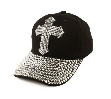 womens baseball caps with bling ladies beautiful denim jean cross cap lovely accented glitter style