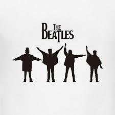 "Beatles ""Help"" album silhouette"