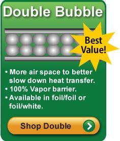 Double Bubble Foil Insulation