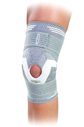 DONJOY STRAPPING ELASTIC KNITTED KNEE BRACE - Designed for sports and day-to-day living use, the knee brace is ideal for acute and chronic knee conditions as it helps to improve knee stability and ease the related symptoms of mild osteoarthritis.