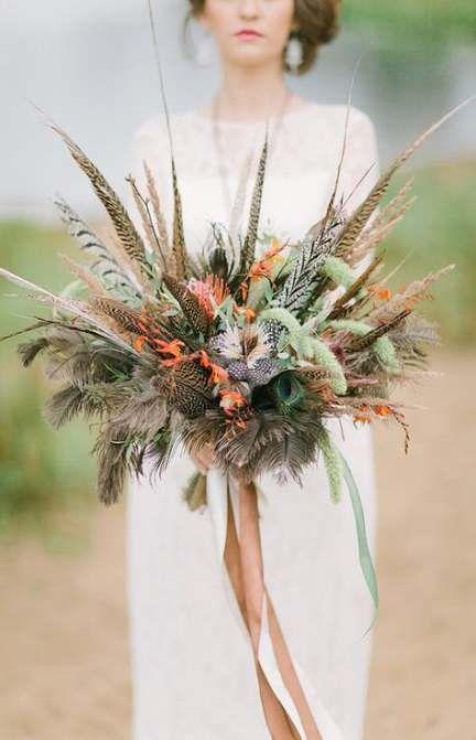 Neue Hochzeitsfrisuren mit Blumen Boho Bohemian Bride Ideas – Weddings!