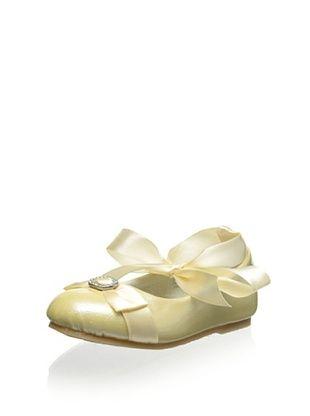 70% OFF Mini Treasure Kids Kid's Angela Ballerina (Pale Yellow)