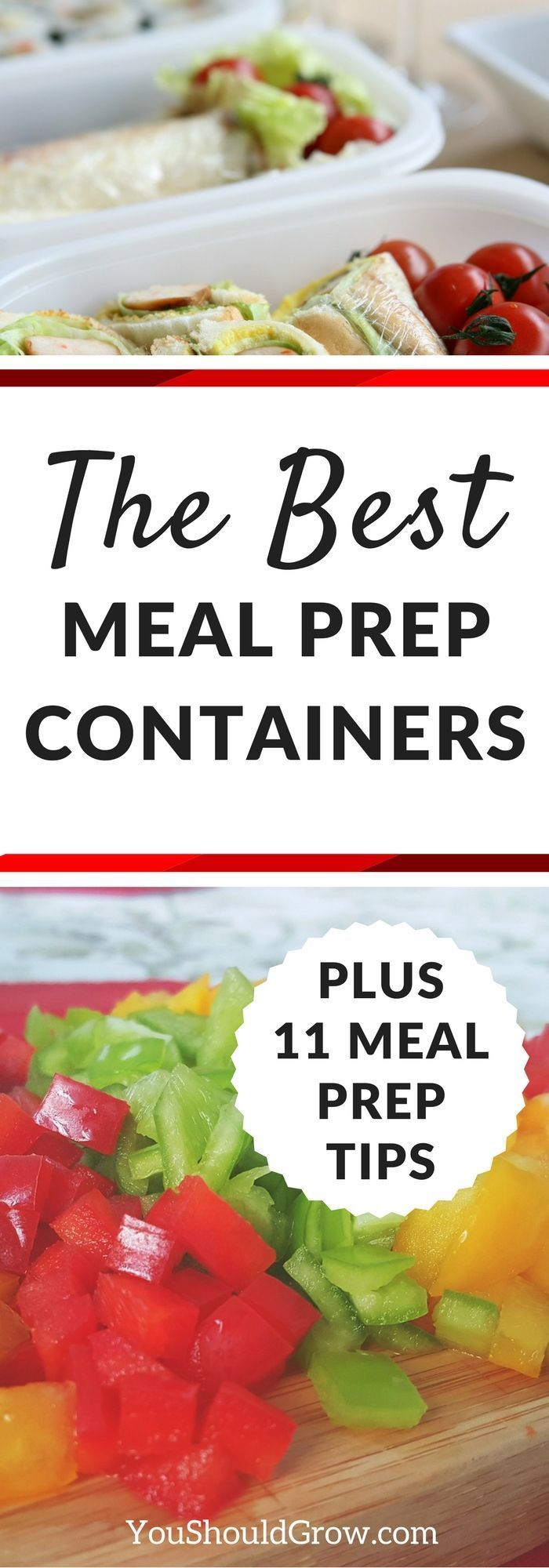Meal planning and prepping is a lot of work! But it's so worth it! Click through for meal prep tips and recommendations for food storage.