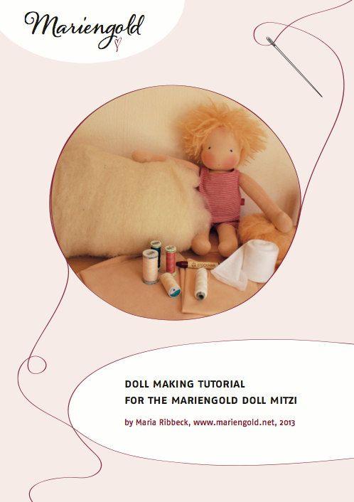 Mitzi Doll Making E-Book for making waldorf dolls