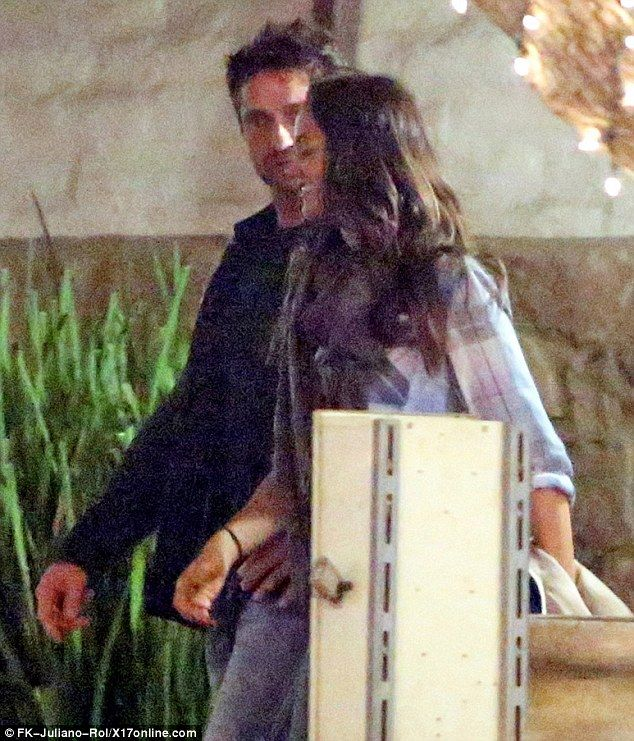 Gerard Butler Enjoys Dinner Date With His Girlfriend Morgan Brown