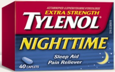 Tylenol Nighttime Sleep Aid Pain Reliever Free Trial Offer - Canada