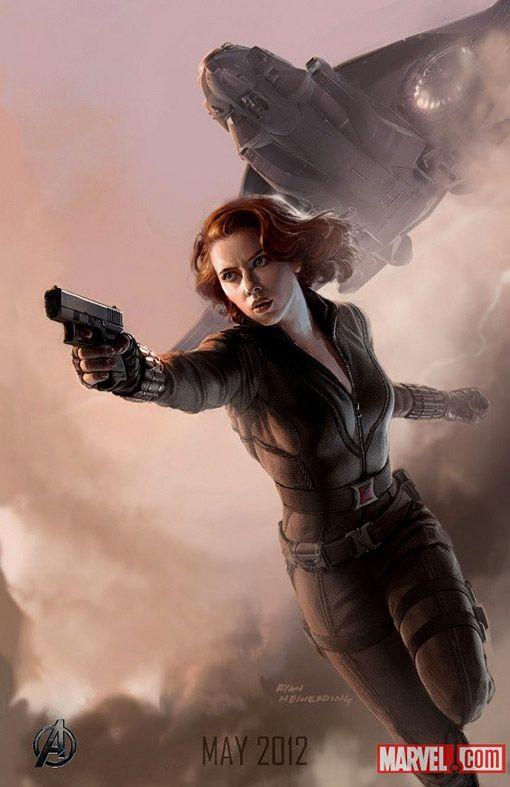 Scarlett johansson black widow poster - photo#6