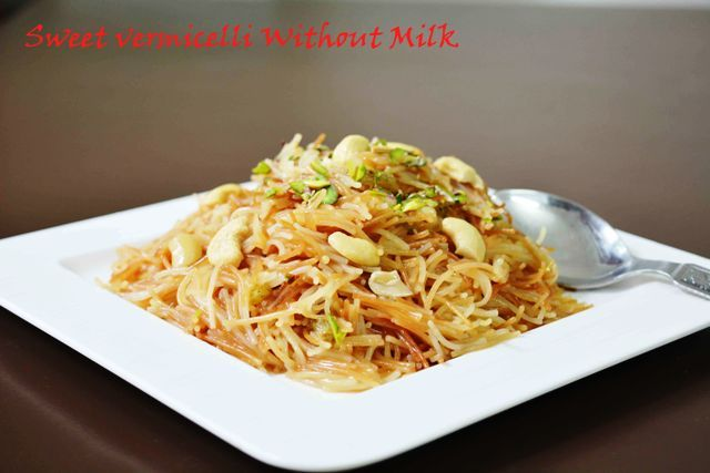 Sweet Vermicelli Without Milk/ How to make meethi seviyan Love this easy peasy dessert #sweetvermicelli #drysevian #delicious #pistachio #raisins #foodie #kidsfavorite #sundaybrunch Recipe at: www.annapurnaz.in