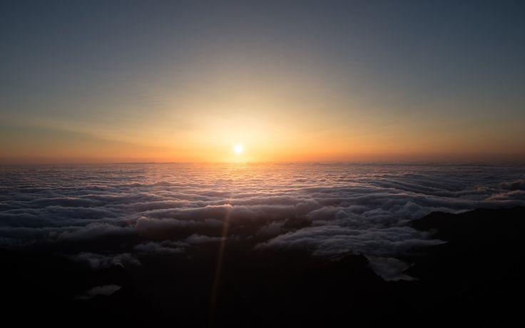 Lever de soleil à Pico do Arieiro