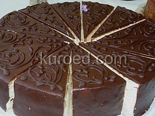 Торт-суфле Птичье молоко с белками и сгущенкой