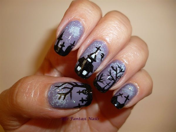 351 best nails images on pinterest halloween nail art holiday 351 best nails images on pinterest halloween nail art holiday nails and halloween nail designs prinsesfo Images