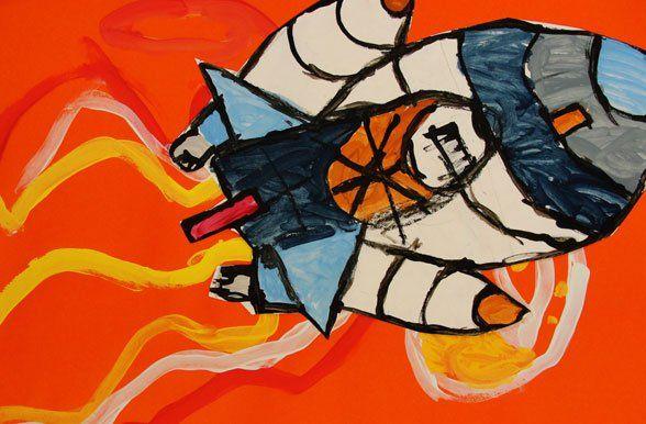 Space Shuttle Art Project | Deep Space Sparkle