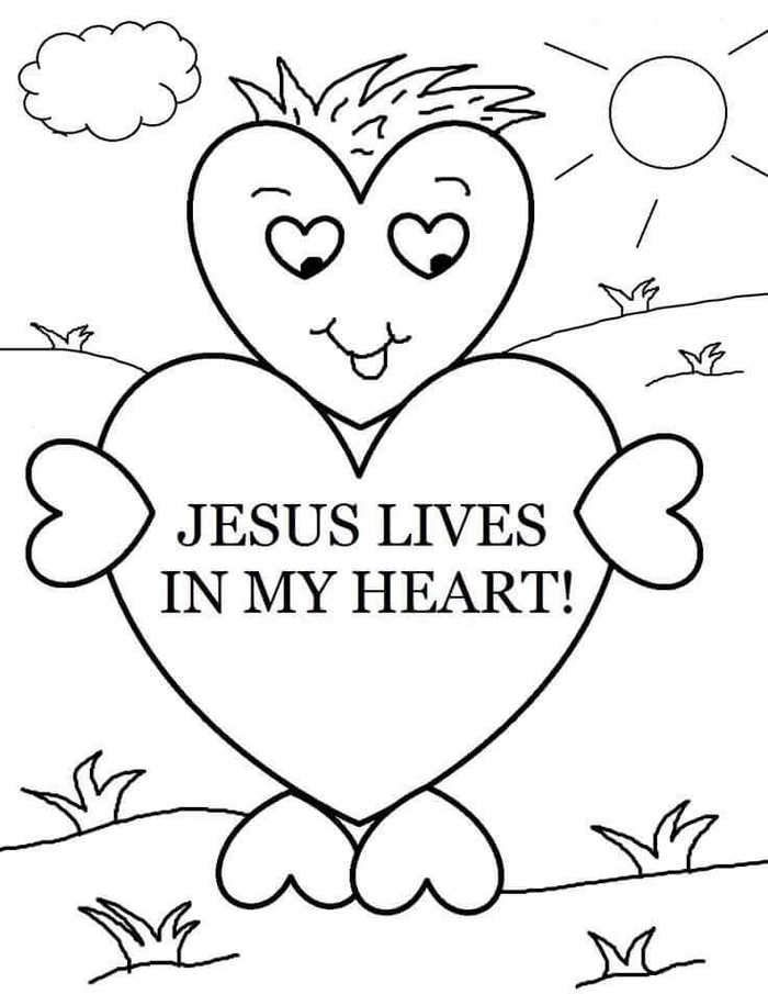 Sunday School Coloring Pages Printable Sunday School Coloring