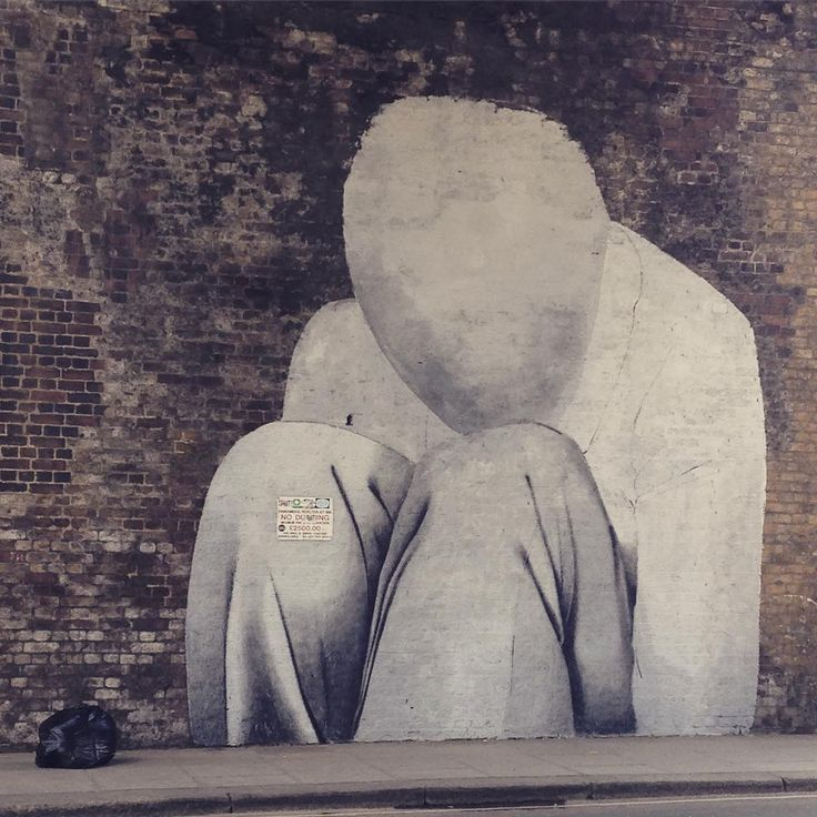Speechless. Street art in London