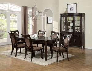 84 Best Dining Table Set Images On Pinterest  Table Settings Glamorous Dark Cherry Dining Room Set 2018