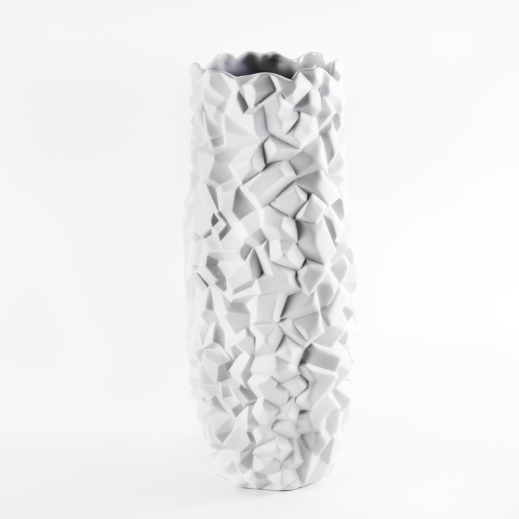 Porcelain Lodite Vase by Bahari  //    Bahari creates unexpected, seductive designs in traditional kiln-fired porcelain.