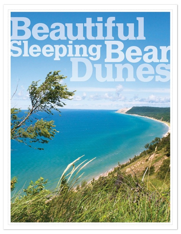 "Sleeping Bear Dunes National Lakeshore, MI, voted ""Most Beautiful Place in America"" by Good Morning America viewers."