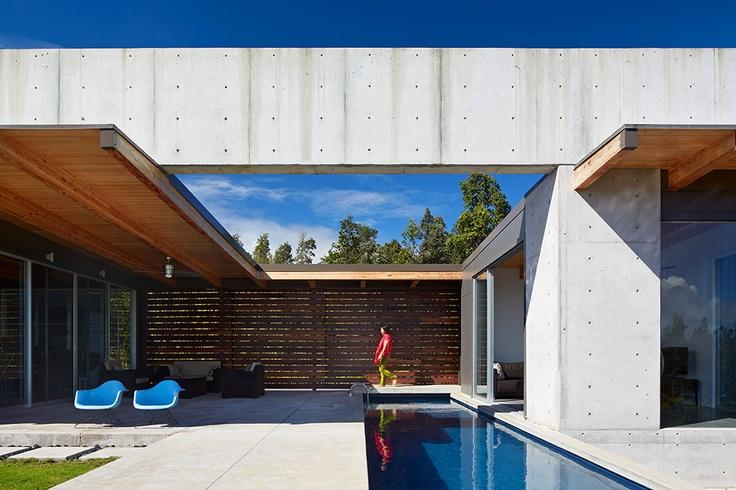 Бетонный дом на Гаваях от Craig Steely Architecture