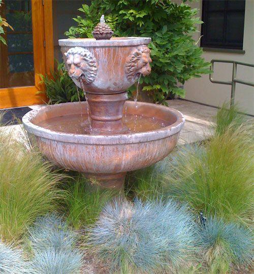 Best 25 water fountains ideas on pinterest garden water for Homemade water fountain ideas