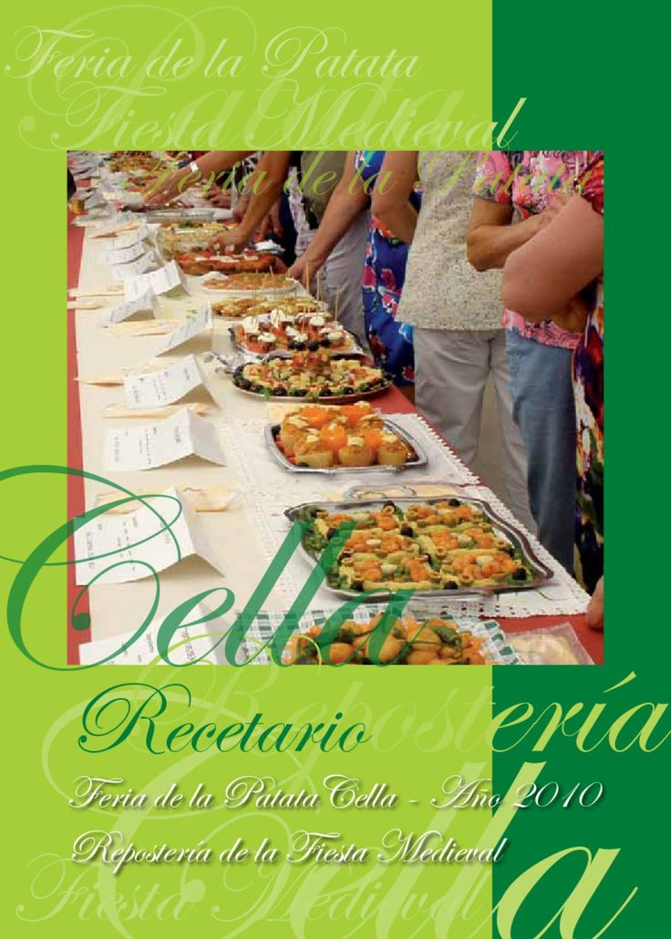 Recetario popular de Cella