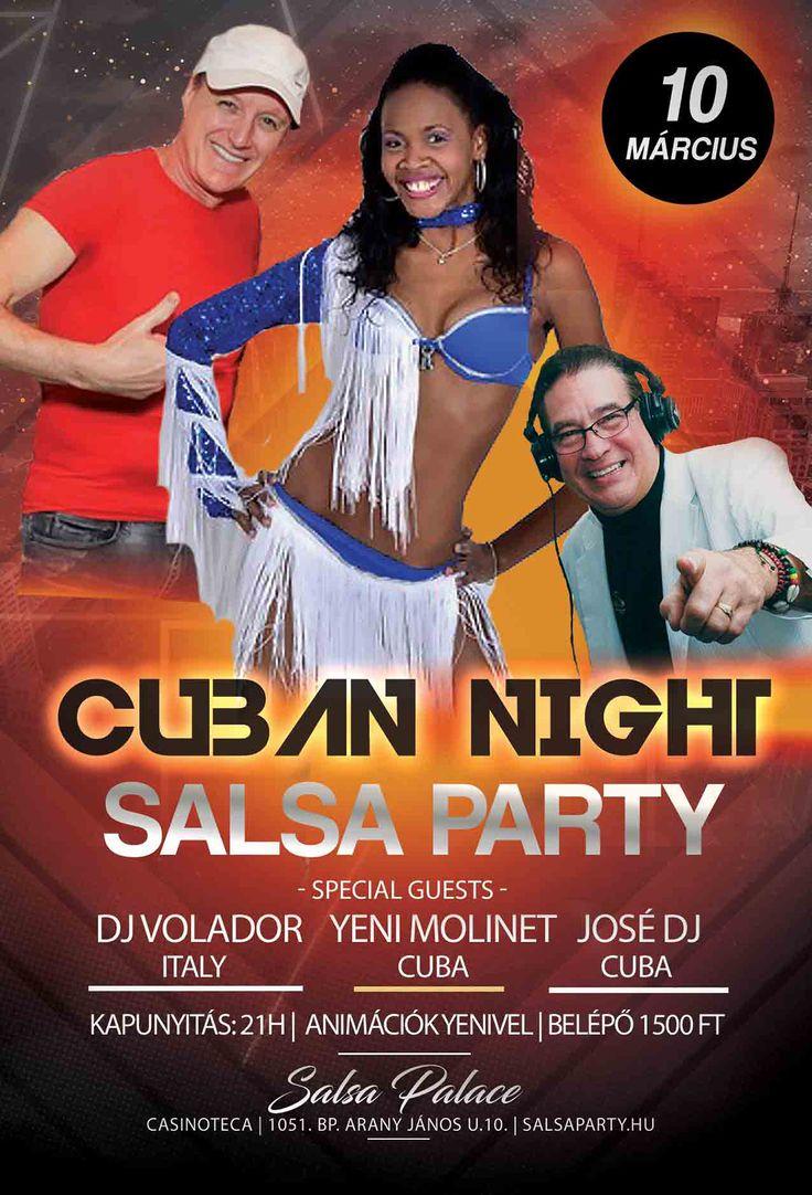 Cuban night salsa party