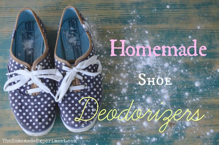 10 DIY Homemade Shoe Deodorizers to fight odor in your shoes this summer.