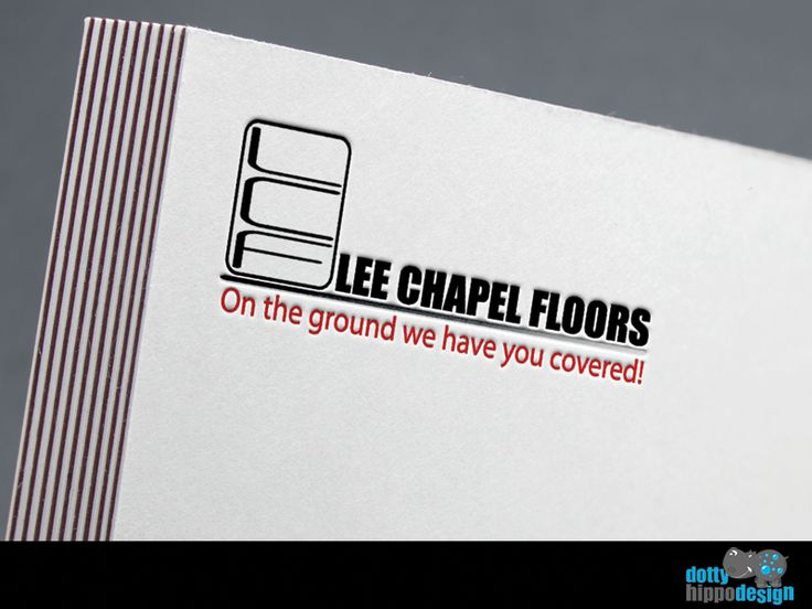 Logo design for Lee Chapel Floors
