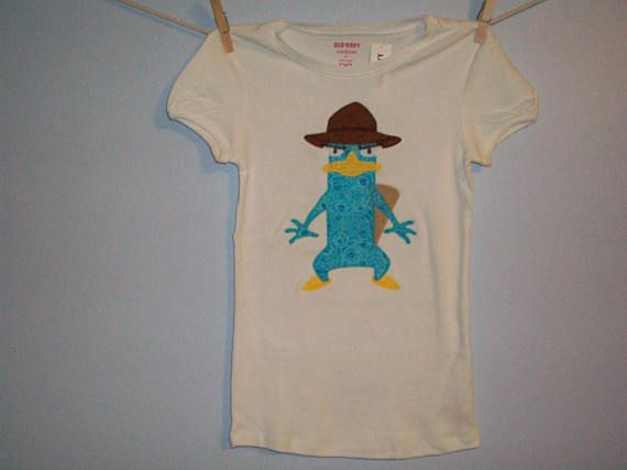 ab3570d05ef3b Phineas and Ferb PeRRY the PLaTYPuS Detective HaT Custom Boutique T ...