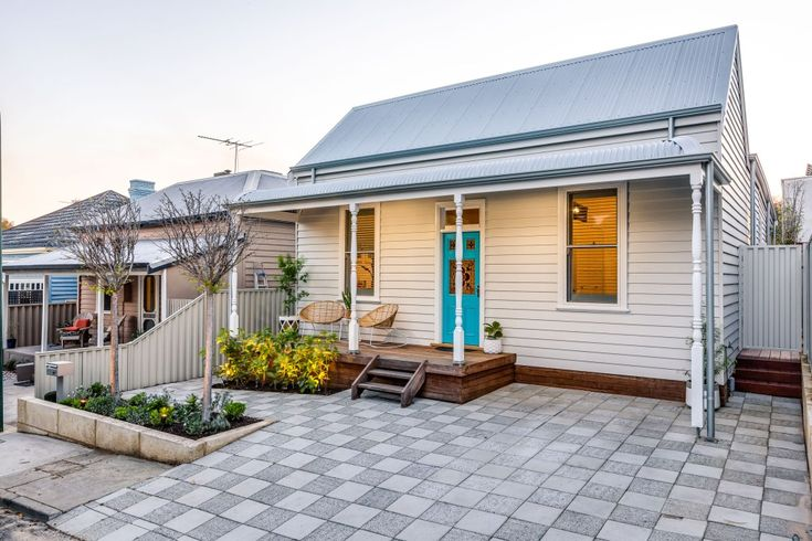 a gorgeous weatherboard cottage renovation in Perth | house nerd.