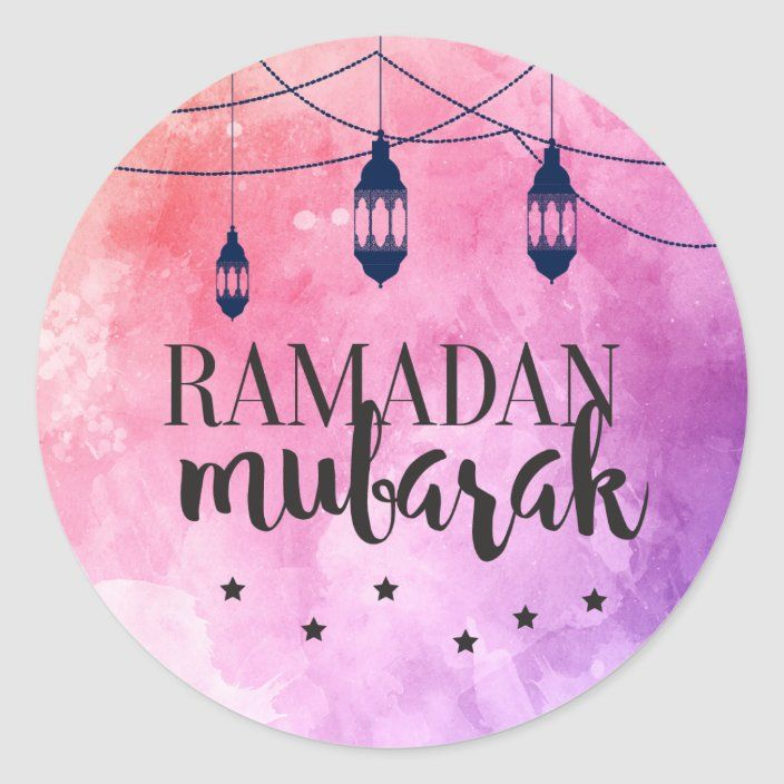 Ramadan Mubarak Stickers Eid Mubarak Stickers Zazzle Com In 2021 Ramadan Kareem Decoration Eid Mubarak Stickers Ramadan Kareem Pictures