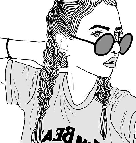 124 best aesthetic images on pinterest girl drawings guy imagem de outline and tumblr voltagebd Image collections