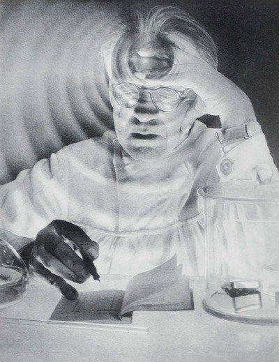 En 1930 realizó trabajo experimental, con superposiciones y exposiciones múltiples.