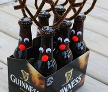 A Six-Pack of ReinBEER... this is one I had wanted to do for Christmas this year and never did.  Always next year!