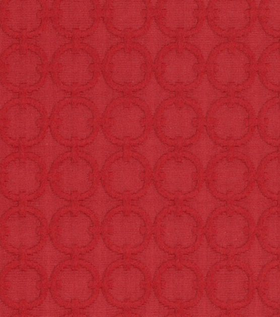 Upholstery Fabric-Waverly Full Circle/Red Buoy, , hi-res