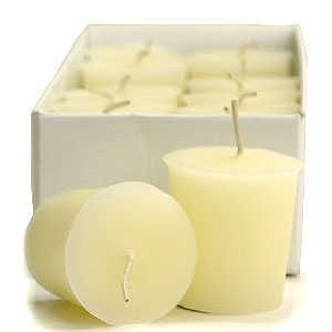 3 Boxes of Suntan Lotion Votive Candles Votive Candles Pack: 12 per box 1.75 in. diameter x 2 in. tall
