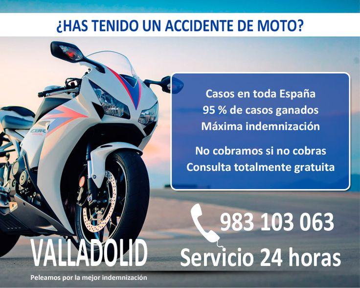 ABOGADO PARA ACCIDENTE DE MOTO EN VALLADOLID