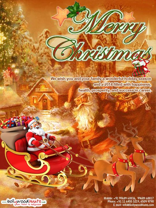 Merry Christmas and a very Happy New Year 2014 !!! Visit: http://www.bollywoodhunts.com/Initiativebanner421.aspx