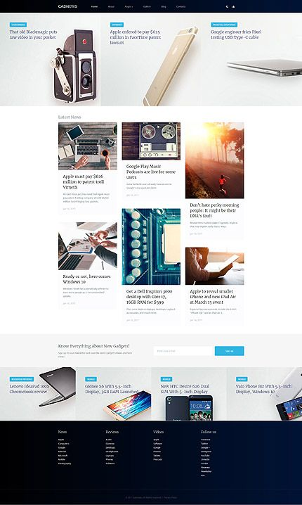 Electronics website inspirations at your coffee break? Browse for more Joomla #templates! // Regular price: $75 // Sources available: .PSD, .PHP #Electronics #Joomla