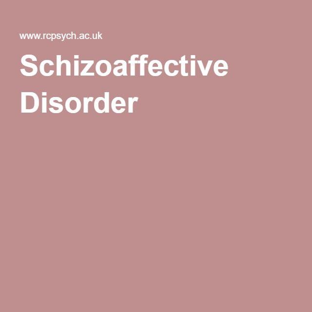 Schizoaffective Disorder - symptoms, self-help tips