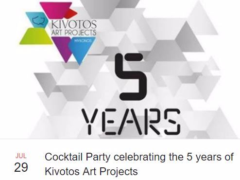 Get the true Saturday perspective; the sounds of DJ Rush, art, cocktails, a sumptuous sunset and stimulating company at #kivotosmykonos. Chalking up five years at the cutting edge of creativity. Here's to five more… at least! #mykonos #art #party #kivotosArtProjects #celebrate #luxuryhotels instatraveling http://qoo.ly/gps8j