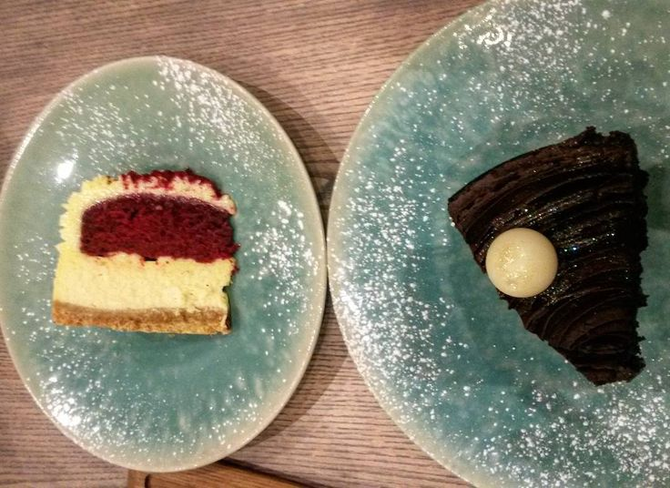Red velvet cheesecake and a decadent chocolate cake at @vivante_cavendish earlier today. This is what Sundays are all about  #food #foodblogger  #foodblog #capetownlife #capetownfood #capetownbest #Foodforfoodies #authentictable #capetown #lovecapetown #foodie #foodporn #foodstagram #foodlover #foodgasm #foodphotography #foodlife #foodoftheday #foodlove #foodlover #food52 #foodshare #foodpost #InstaFood #InstaFoodie #Foodforfoodies #cake #cavendishsquare #instacake