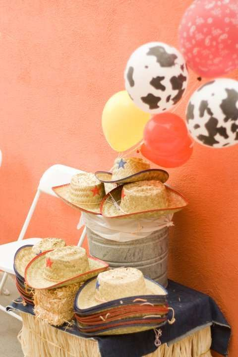 Western/Country Cowgirl Birthday Party Ideas   Photo 5 of 7