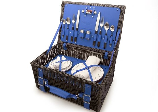 Lovely Aston Martin Picnic Hamper by Grant MacDonald Silversmiths