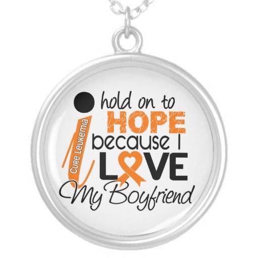 Hope For My Boyfriend Leukemia Necklaces