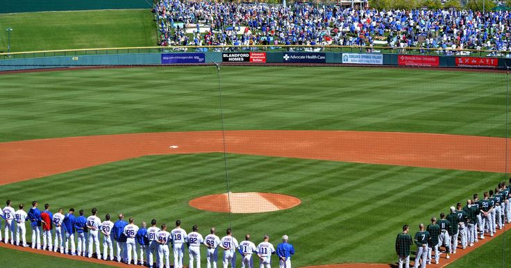 Chicago Cubs announce 2018 spring training schedule