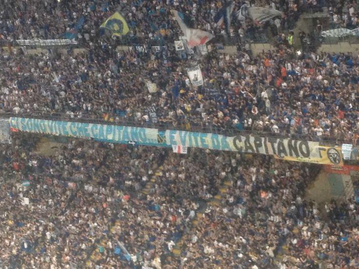 10/05/2014 San Siro - Saluto al capitano! Zanetti nel cuore. Inter