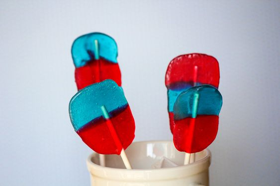 Fourth of July Lollipops - Quick & Easy - Jolly Rancher